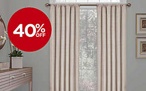40% OFF All Eclipse and Solar Shield Curtains! Valid thru 2/3.. Shop Now