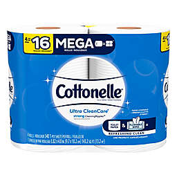 Cottonelle® 4-Pack Ultra CleanCare® Toilet Paper