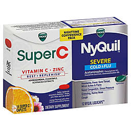 Vicks® NyQuil™ Severe Cold and Flu Tablets 26-Count