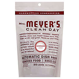 Mrs. Meyer's® 20-Count Automatic Dish Soap Pacs in Lavendar