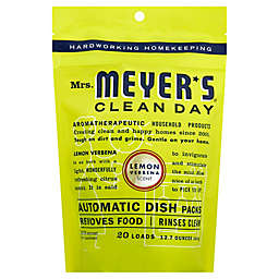 Mrs. Meyer's® 20-Count Automatic Dish Soap Pacs in Lemon Verbana