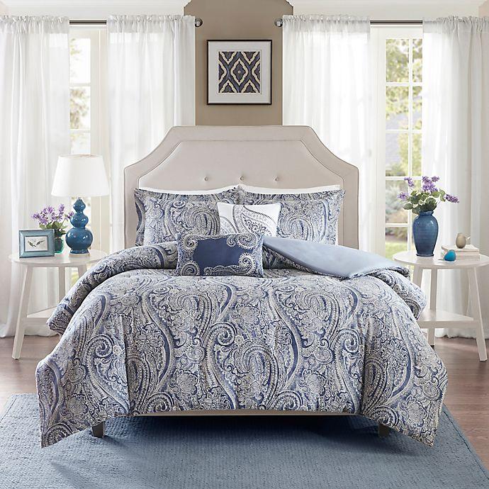 Alternate image 1 for Harbor House® Stella Duvet Cover Set in Blue