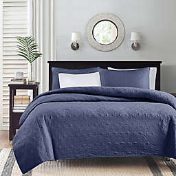 Madison Park Quebec 3-Piece Reversible Coverlet Set