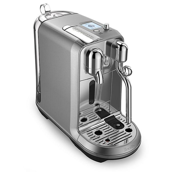 Alternate image 1 for Nespresso® by Breville Creatista Plus Espresso Machine in Stainless