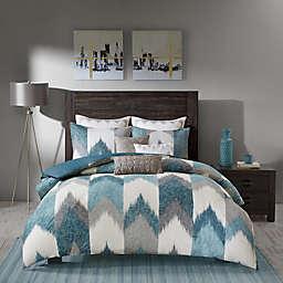 INK+IVY Alpine King/California King Comforter Set in Aqua