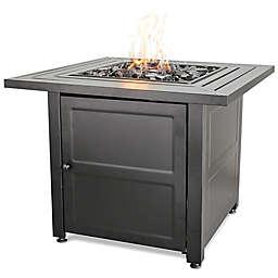 UniFlame® Propane Gas Outdoor Firebowl with Steel Mantel