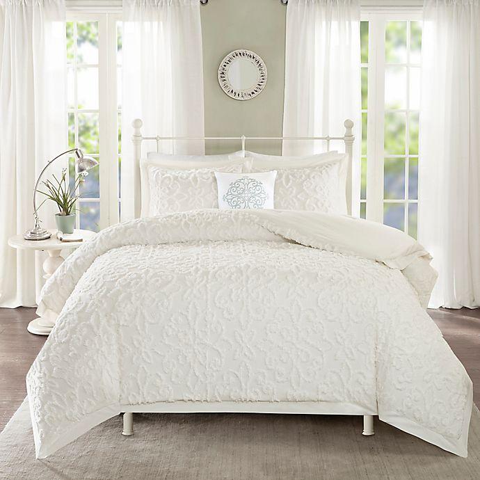 Alternate image 1 for Madison Park Sabrina 4-Piece Full / Queen Comforter Set