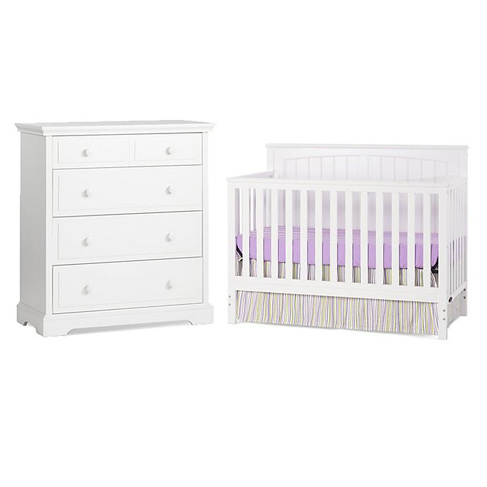 Alternate image 1 for Craft Child™ Sheldon Nursery Furniture Collection in Matte White