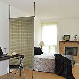 Versailles Home Fashions Bamboo Room Dividing Privacy Panel