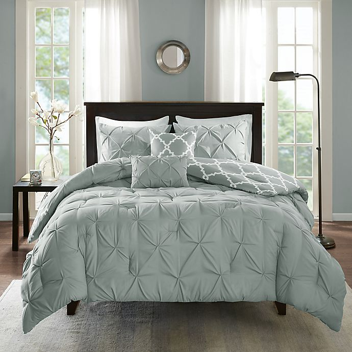 Alternate image 1 for Madison Park Essentials Kasey 5-Piece Reversible Comforter Set