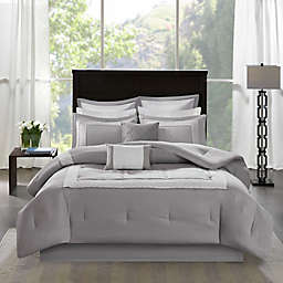 Madison Park Stratford 8-Piece Comforter Bedding Set with Bedskirt