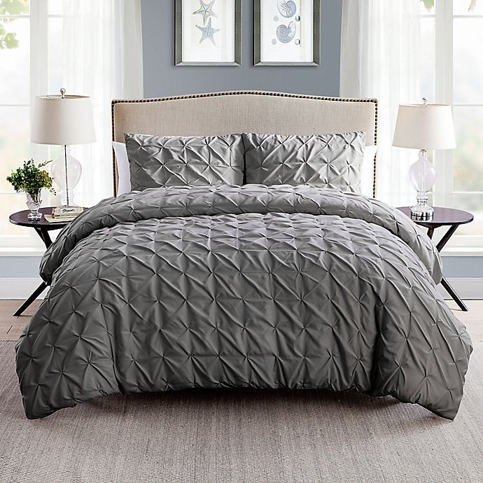 Alternate image 1 for VCNY Home Scottsdale 2-Piece Reversible Twin XL Duvet Cover Set