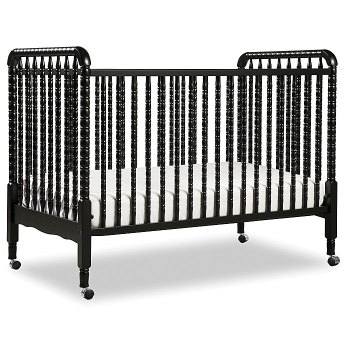 Alternate image 1 for DaVinci Jenny Lind 3-in-1 Convertible Crib in Ebony