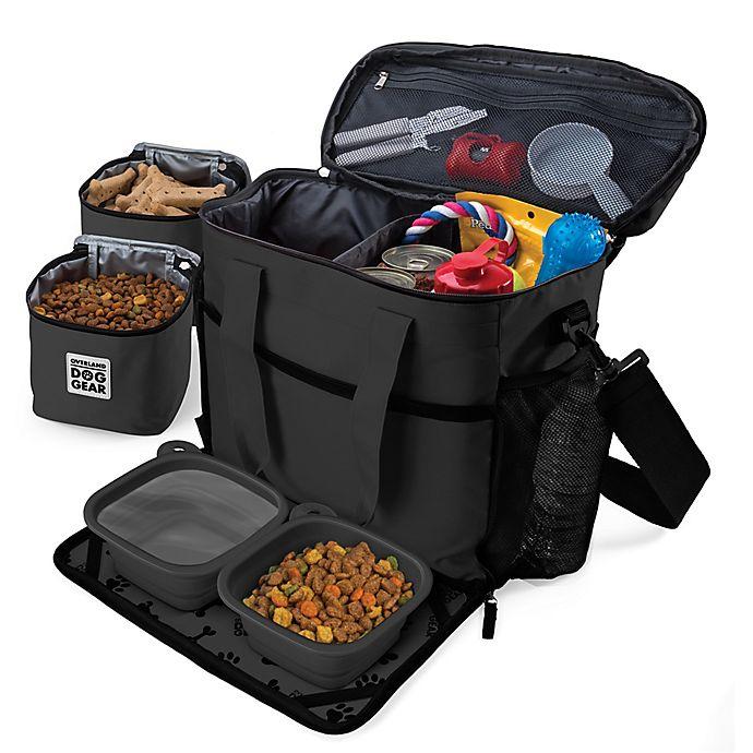 Alternate image 1 for Overland Gear Week Away Dog Bag in Black