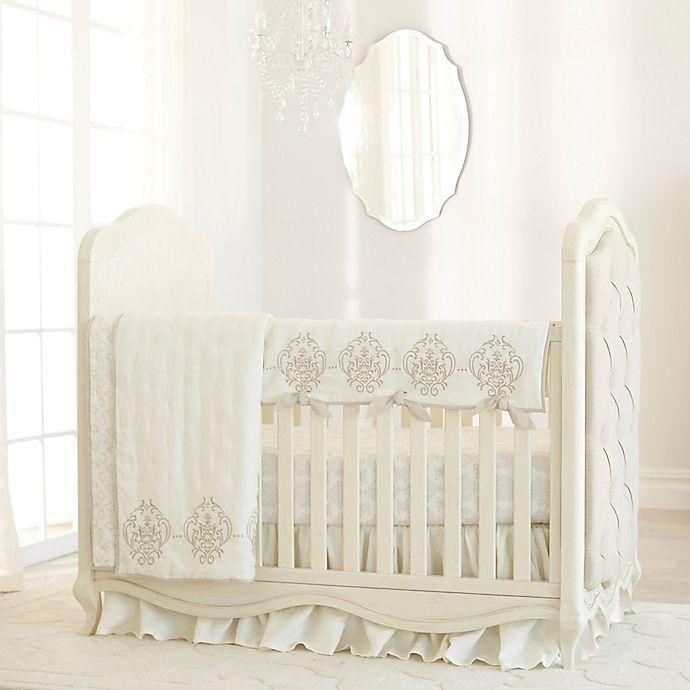 Alternate image 1 for Just Born® Keepsake Linen Crib Bedding Collection