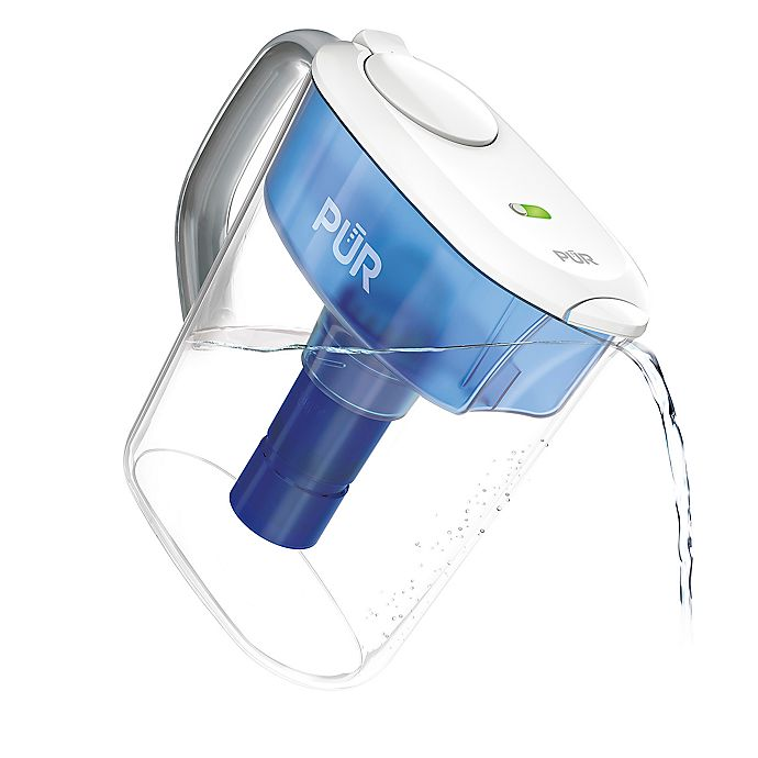 Alternate image 1 for Pur® Ultimate 11-Cup Water Pitcher with Lead Reduction Filter