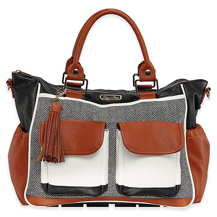 Alternate image 1 for Itzy Ritzy® Convertible Diaper Bag