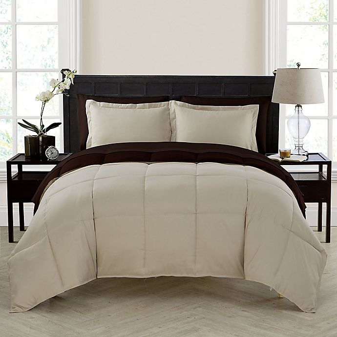 Alternate image 1 for VCNY Home Lincoln 5-Piece Reversible Twin XL Down Alternative Comforter Set