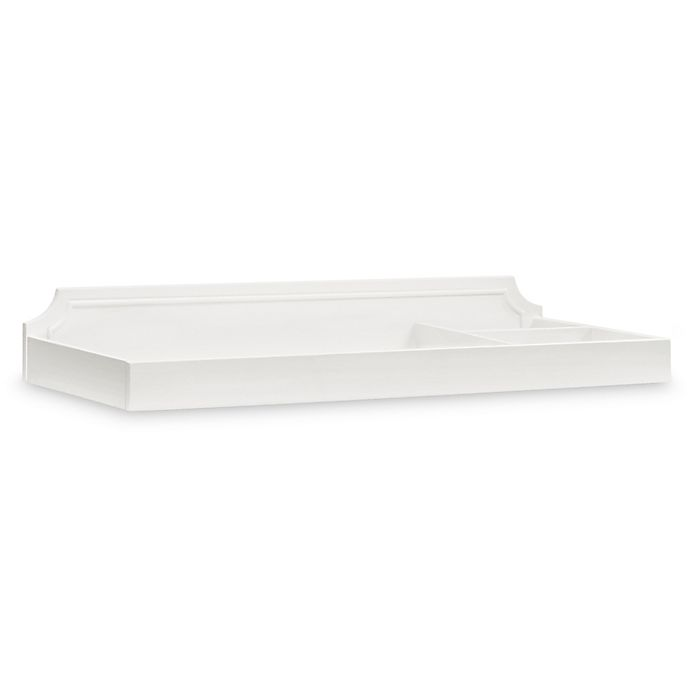 Alternate image 1 for Million Dollar Baby Classic Emma Regency Removable Changing Tray in Warm White