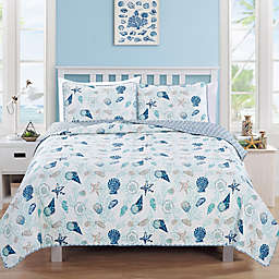 Great Bay Home Bali Quilt Set