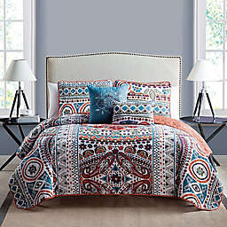 VCNY Home Natasha 5-Piece Reversible Full/Queen Quilt Set