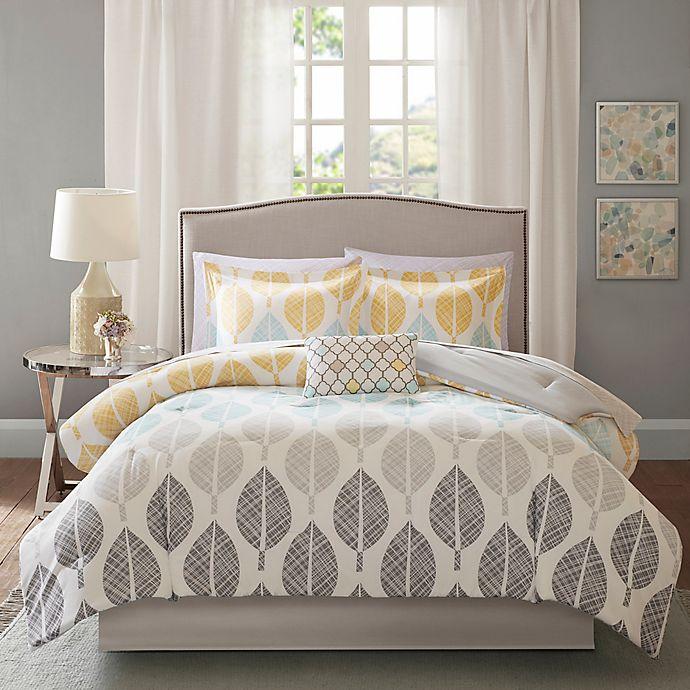 Alternate image 1 for Madison Park Essentials Central Park Reversible Comforter Set