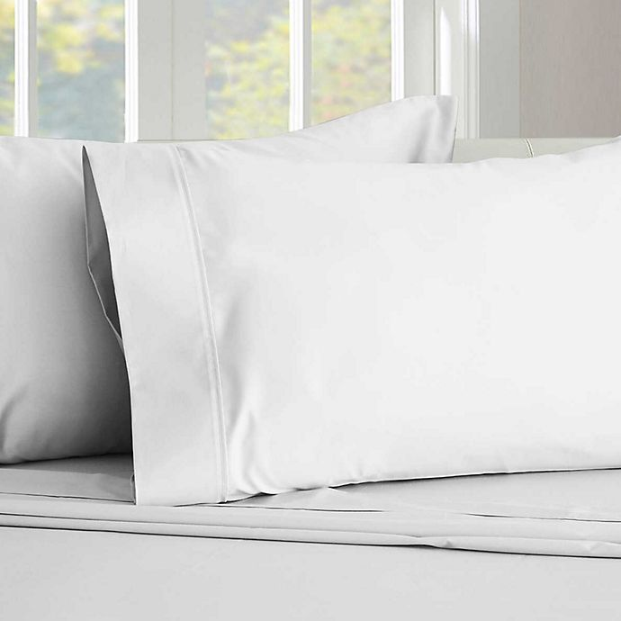 Alternate image 1 for Therapedic® 450-Thread-Count King Sheet Set in Brilliant White