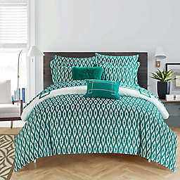 Chic Home Dawson Reversible Comforter Set