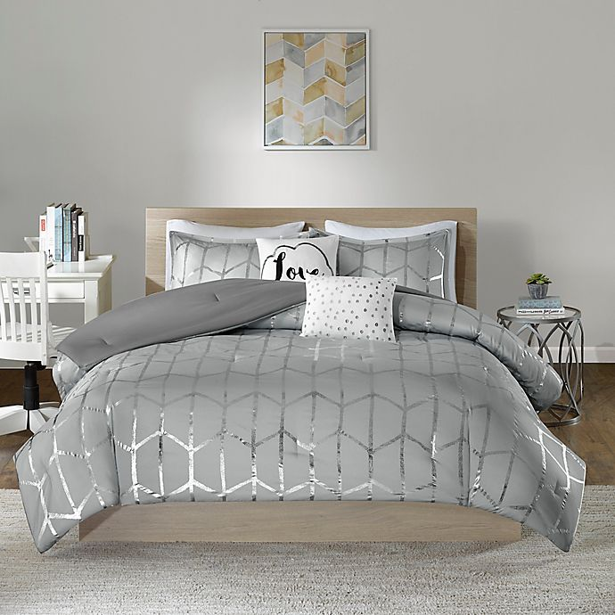 Alternate image 1 for Intelligent Design Raina 5-Piece Comforter Set