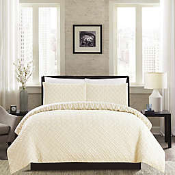 Chic Home Maritoni 3-Piece Reversible King Comforter Set in Beige