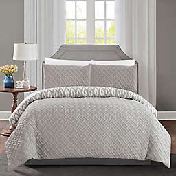 Chic Home Maritoni 7-Piece Reversible King Comforter Set in Silver