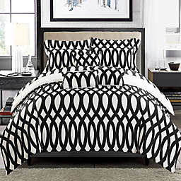 Chic Home Dieren 8-Piece Reversible Twin Comforter Set in Beige