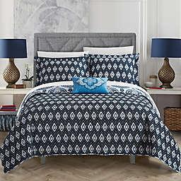 Chic Home Breda 4-Piece Reversible Quilt Set