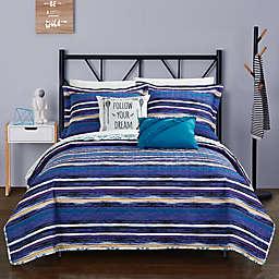Chic Home Arvin 5-Piece Reversible Quilt Set