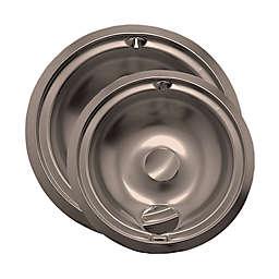 Range Kleen® 2-Pack Style B Drip Pan in Chrome