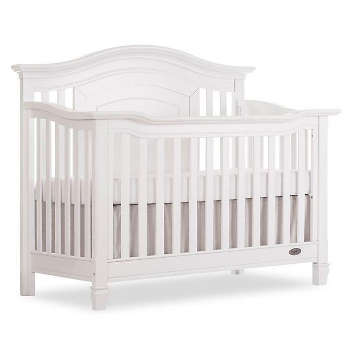 Alternate image 1 for evolur™ Fairbanks 5-in-1 Convertible Crib in Winter White