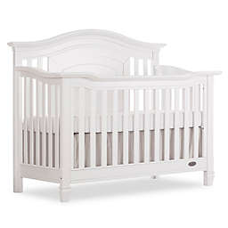 evolur™ Fairbanks 5-in-1 Convertible Crib in Winter White