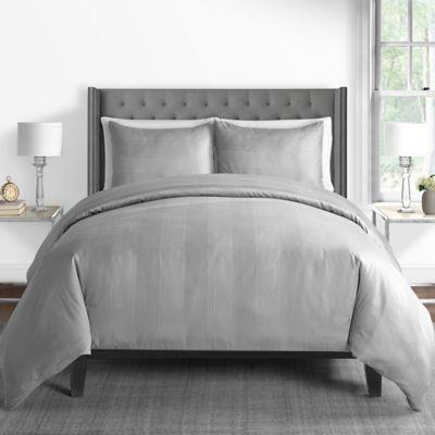 grey duvet covers bed bath beyond