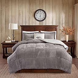 Woolrich® Alton Plush to Sherpa 4-Piece Comforter Set