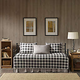 Woolrich® Buffalo Check Reversible Daybed Set in Grey