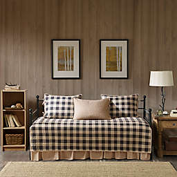 Woolrich® Buffalo Check Reversible Daybed Set in Tan