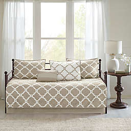 Madison Park Essentials Merritt Reversible Daybed Set in Taupe