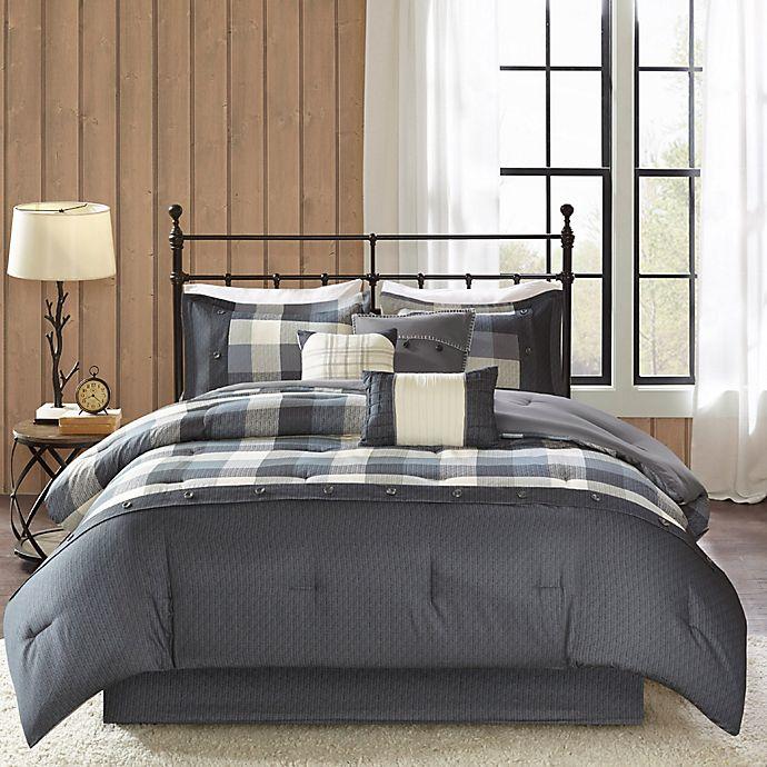 Madison Park Ridge Herringbone Comforter Set Bed Bath Beyond