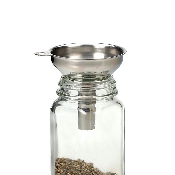 Alternate image 1 for Stainless Steel Spice Funnel