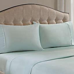 Madison Park 1500-Thread-Count King Pillowcase in Seafoam