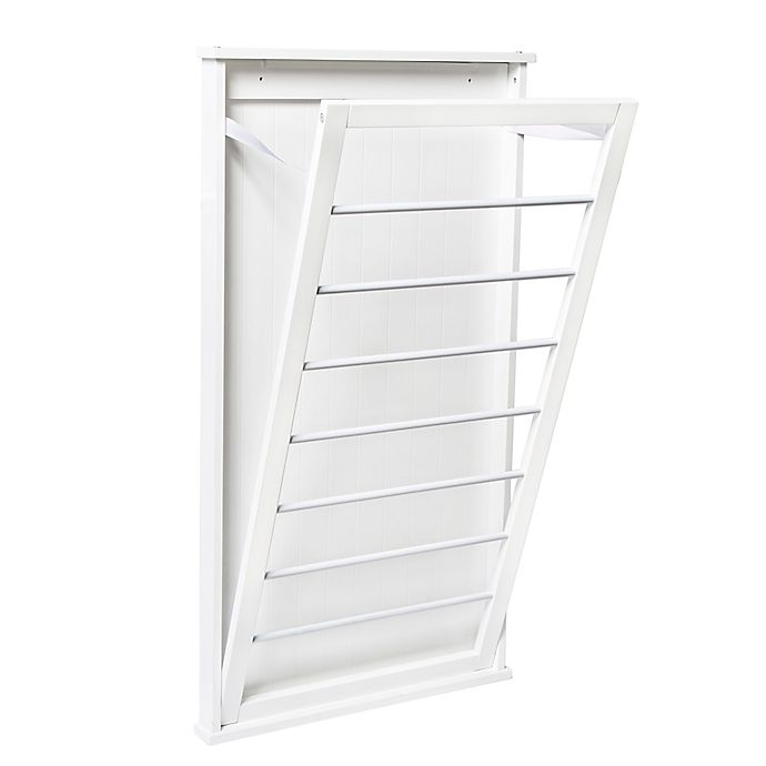 Alternate image 1 for Honey-Can-Do® Large Folding Wall-Mount Drying Rack
