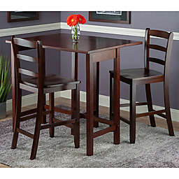 Winsome Lynnwood 3-Piece Drop Leaf Counter-Height Dining Set
