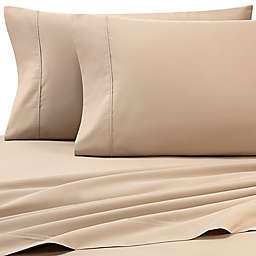 Heartland® HomeGrown™ 325-Thread-Count Cotton Percale King Fitted Sheet in Taupe