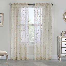 Grandeur Rod Pocket Window Curtain Panel (Single)