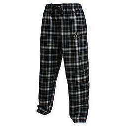 Vanderbilt University Men's Small Flannel Plaid Pajama Pant with Left Leg Team Logo